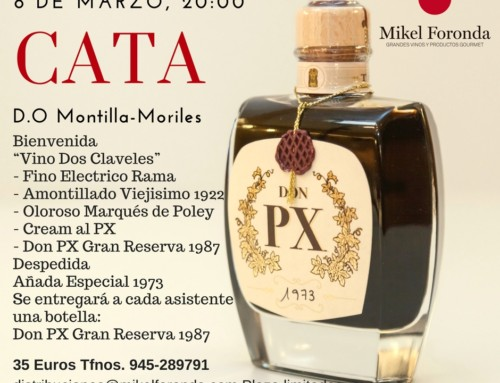 Cata D.O Montilla-Moriles con la bodega Toro Albalá